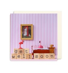 Get Well Soon Card by Dietske Klepper | LAGOM DESIGN