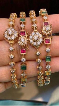 Jewellery Exchange Kelowna Bc because Jewellery Box On Sale - Jewelery diy ideas Ruby Bangles, Gold Bangles, Silver Bracelets, Silver Rings, Charm Bracelets, Gold Jewellery Design, Jewellery Box, Handmade Jewellery, Earrings Handmade