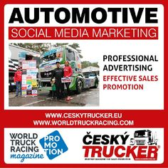 WORLD TRUCK RACING PROMOTION – a monthly online magazine focused on worldwide promotion and advertising of truck races on circuits, inclusive of the truck shows and festivals complementing the races.