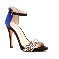 Royal Blue With Snow Leopard Print. Sole Society - Women's Shoes at Surprisingly Affordable Prices