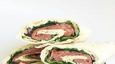 Lunchtip:+wraps+met+rosbief!