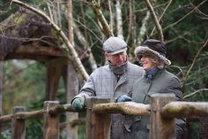 The Prince of Wales and The Duchess of Cornwall.