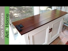 How to Build a Hidden TV Lift Cabinet - Make a Pop-Up TV Cabinet