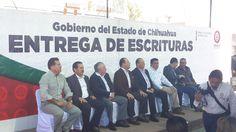 <p>Chihuahua, Chih.- El gobernador del estado, César Duarte Jáquez, encabezó en compañía del secretario de Desarrollo Urbano