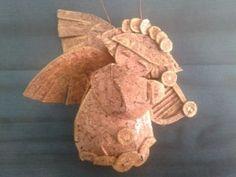 TaTyArT - Angelo handmade in sughero