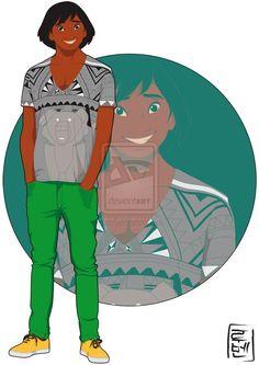 #kenai #personnage #frere_des_ours