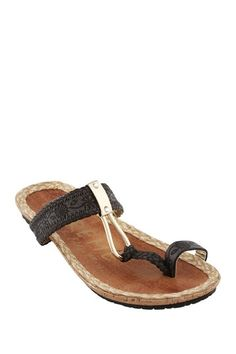 EXTREME By Eddie Marc Phat Tribal Patterned Toe Ring Sandal by Sandals Up To 75% Off on @HauteLook