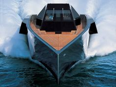 In 2001, the company entered the motor yacht business with one of the most radical ships ever commissioned: The Wally 118.
