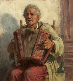 Scott Tallman Powers, Hidden Melodies, Oil, 20 x 18 inches Music Pics, Art Music, Powerful Art, Examples Of Art, Gcse Art, Figure Painting, Painting Art, American Artists, Artist At Work