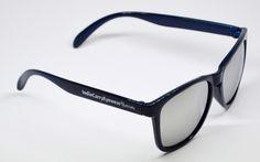 404's - Dark Blue with Smoke Lenses