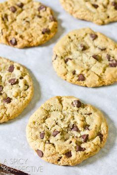 The Best Chocolate Chip Cookie Recipe @Niki Sommer | A Spicy Perspective