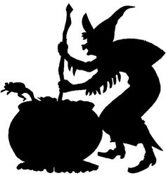 halloween witch pictures | Holiday Wall Hangings and Garden Stakes for Christmas and Halloween