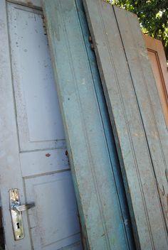portas antigas de cedro
