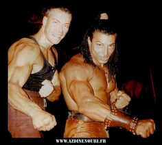 The Quest.  Jean Claude Van Damme with one of the many fighters costumes I designed for the show.  #josephporrodesigns