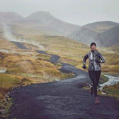"""Keep pushing. We should not judge people by their peak of excellence; but by the distance they have traveled from the point where they started. -Henry Ward Beecher. Photo: @elisabetm; """"Smokey Valley"""" Reykjadalur Iceland. :: Share your photos with us using #outdoorwomen in your captions. (Click the photo to see more on our @outdoorwomen Instagram community!) Running Guide, Running Training, Trail Running, Fell Running, Core Strength Training, The Longest Journey, Running Shoe Reviews, Running Inspiration, Workout Humor"""