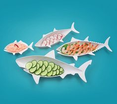 Fish Food Nesting Dishes – $15