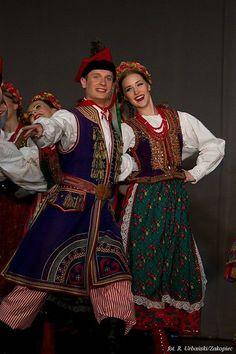 Krakow region folk dance