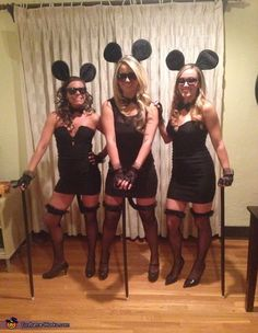 The Three Blind Mice!