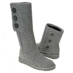 Love these Ugg boots! But they get wrecked in the rain. :/