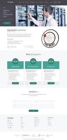 154 best best joomla templates images on pinterest joomla jm simple business joomla template wcag 20 ada compliant flashek Images