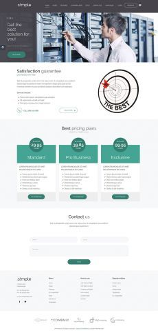 JM Simple, #joomla #template #wcag #accessible #section508