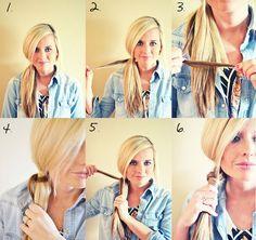 Hair DIY: Chinese Staircase Braid