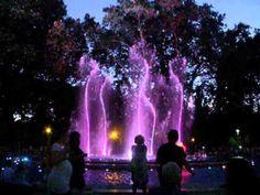 Budapest, Margit island singing fountain