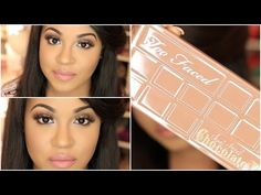 Too Faced Semi Sweet Chocolate Bar Palette Tutorial - YouTube