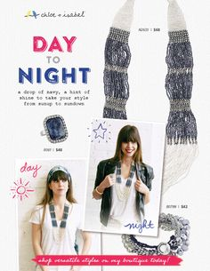 Shop day-to-night styles on my c+i boutique! ! #global #tribal #beaded #necklace #chloeandisabel #jewelry