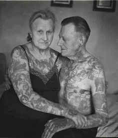 """24 tattooed seniors answer the question: """"what will they look like in 40 years?"""""""