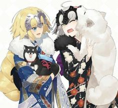 Jeanne and Jeanne Alter dogs Manga Art, Anime Art, Fate Jeanne Alter, Shao Jun, Character Art, Character Design, Miyamoto Musashi, Fate Servants, Accel World