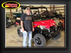 Thanks to James and Jill Williams from Grand Bay AL for getting a 2017 Polaris Ranger 500. @HattiesburgCycles