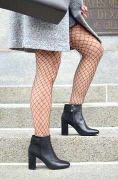 Eli in the Walk-in Christian Dior, Choker, Zara, Topshop, Punk, Sexy, Knee Boots, Walking, Stockings