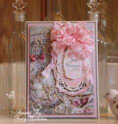 Resultado de imagen para Zutter Bow-it-All Craft Tutorials, Craft Projects, Projects To Try, Craft Ideas, Card Making Designs, Shabby Chic Cards, Types Of Craft, Scrapbook Paper Crafts, Scrapbooking