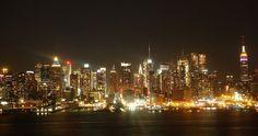 Vista do skyline de Nova Jersey || Beatriz Monteiro | UOL
