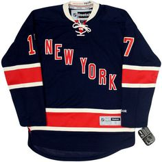 Hockey Jerseys ($125) ❤ liked on Polyvore featuring tops, jerseys, blue top, jersey knit tops and jersey tops