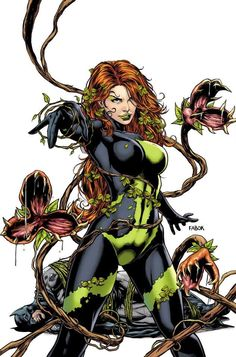 Detective Comics Poison Ivy Cover): For too long, Poison Ivy has played with men?s hearts and been a pawn in their games too? Now that Batman is gone, she will grow into a force of nature unlike anything Gotham City has seen before! Poison Ivy Batman, Poison Ivy Comic, Dc Poison Ivy, Poison Ivy Dc Comics, Comic Book Characters, Comic Character, Comic Books Art, Comic Art, Poison Ivy Character