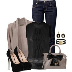 Simple Chic, created by angelysty on Polyvore