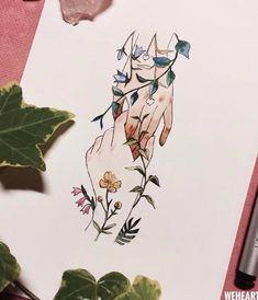 Art Inspiration Drawing, Art Inspo, Arte Obscura, Arte Sketchbook, Marker Art, Art Drawings Sketches, Drawing Art, Doodle Art, Cute Art