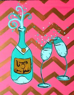 Champagne Dreams at Pinot's Palette The Woodlands