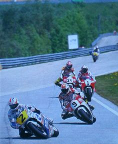 Salzsburgring 93 Doohan, Rainey, Barros and Itoh