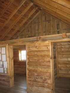 Big Woods cabin interior