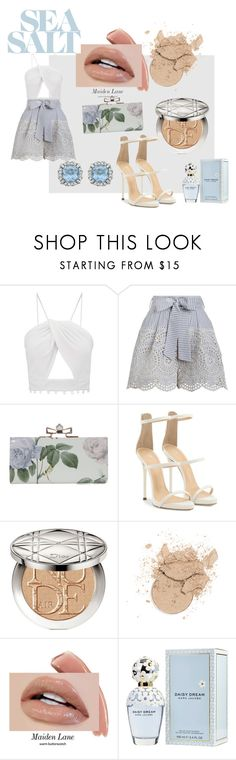 """""""summer outfit"""" by trinh131096 on Polyvore featuring mode, Zimmermann, Giuseppe Zanotti, Christian Dior et Marc Jacobs"""