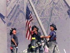 Throught the disaster, America still stood strong