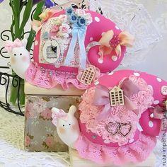 Купить Тильда Улитки на Розовую свадьбу (10 лет) - розовый, Тильда улитка, улиточка, свадьба