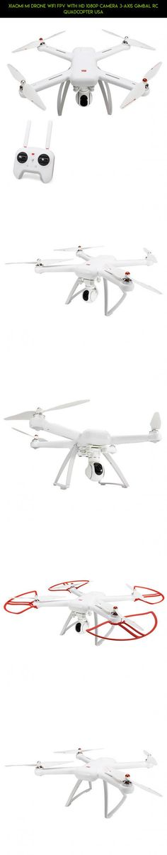 Xiaomi Mi Drone WIFI FPV With HD 1080P Camera 3-Axis Gimbal RC Quadcopter USA #products #kit #gadgets #1080p #wifi #drone #shopping #fpv #quadcopter #xiaomi #technology #plans #drone #fpv #camera #tech #parts #mi #racing
