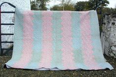 Victorian Print Strippy | Strippy Quilts | Victorian Print Strippy from Jen Jones Welsh Quilts & Blankets