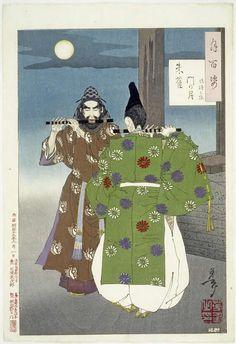 Tsukioka Yoshitoshi - Hundred Aspects of the Moon