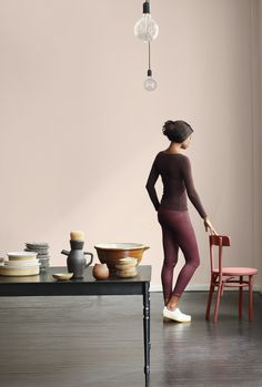 """Plascon colour of the year """"In the mood"""" Plascon Colours, Color Of The Year 2017, Calming Colors, Study Space, Color Stories, Earthy, Mood, Pink, Inspiration"""