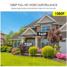 ZOSI NVR Wireless Security System has full HD video surveillance. Wireless Security System, Security Monitoring, Stronger Wifi Signal, Wireless Ip Camera, Windows System, Full Hd Video, Security Camera System, Noise Reduction